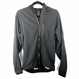 Mens Adidas Terrex Black Lightweight Hooded Jacket